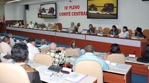 IV Pleno Comité Central