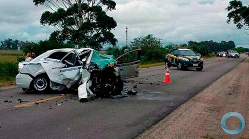 Accidente automovilístico