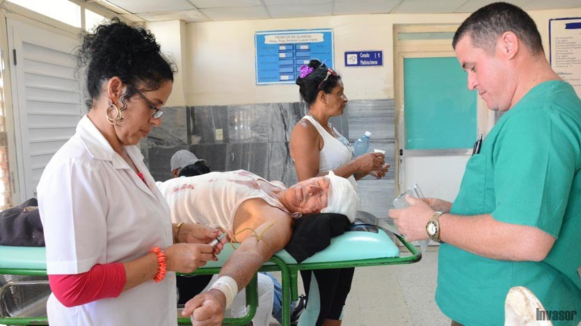 Varios lesionados en accidente de tránsito en el centro de Cuba