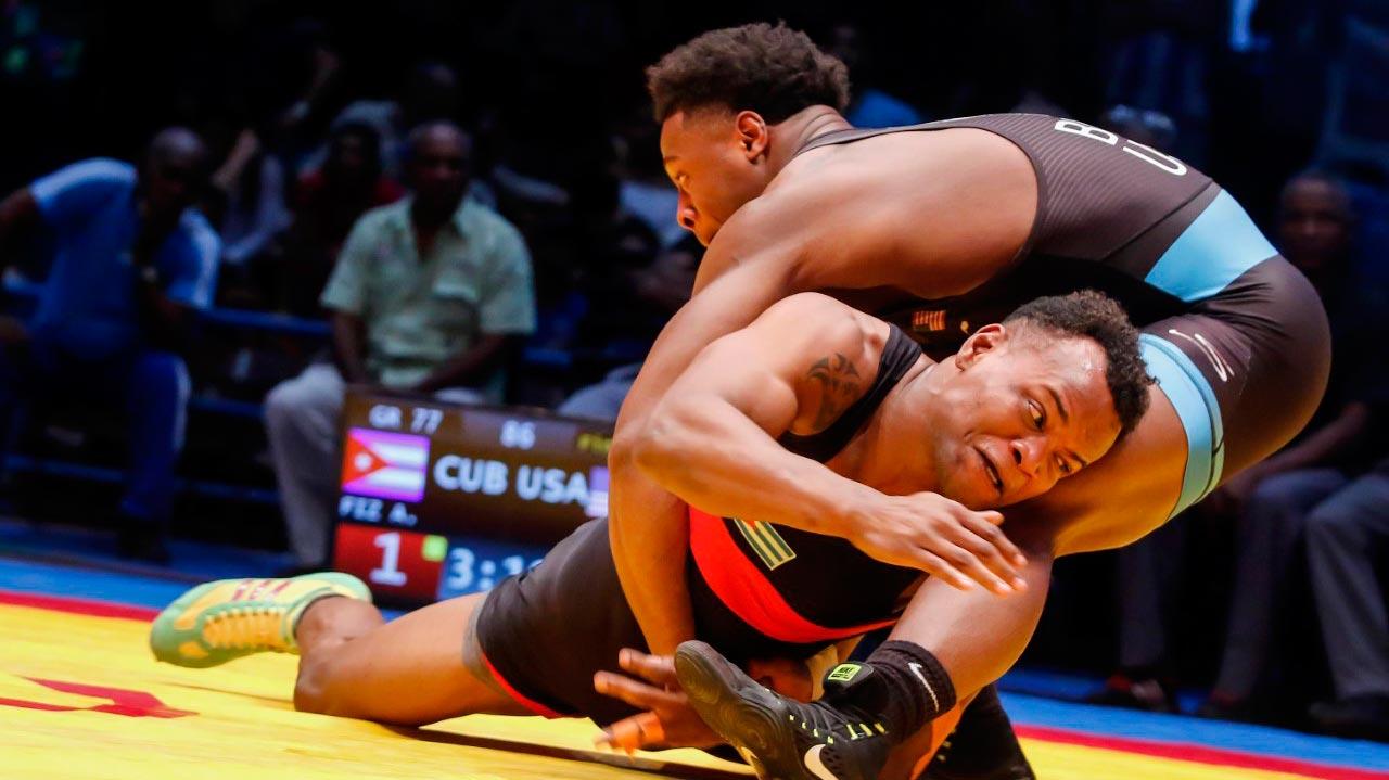 Equipo cubano de lucha greco clasifica en pleno a los Juegos Panamericanos de Lima 2019