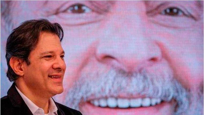 Arremeten contra candidato de Lula en su 1er debate