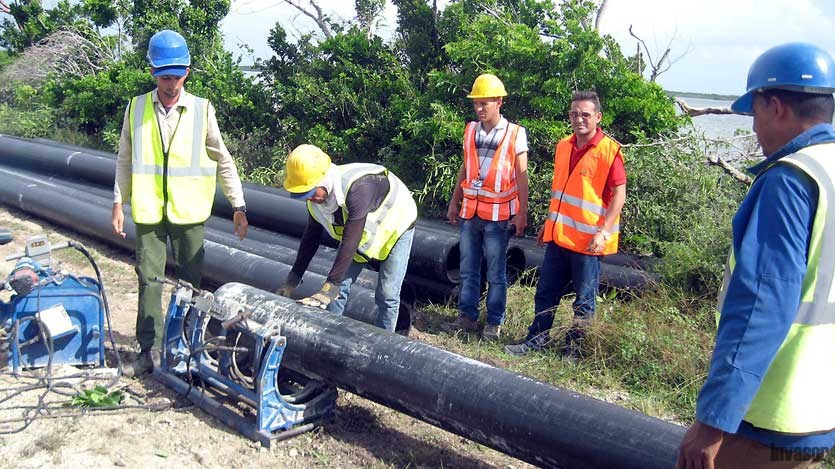 Llegará más agua potable a Cayo Guillermo