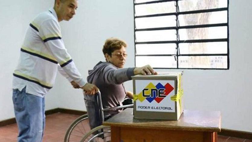 Triste votación en Venezuela