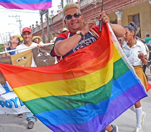 Desfile contra la homofobia y transfobia