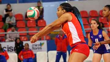 Cuba for its second win in Girls´ U18 Pan Am Volleyball Cup