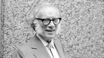 Isaac Asimov, escritor y bioquímico