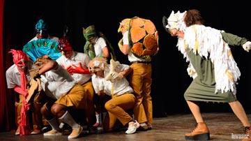 Obra teatral Carpetica de Yarey