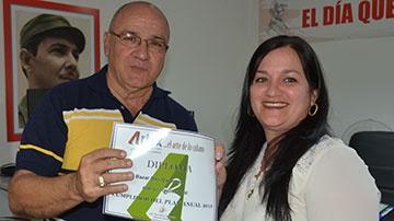 Mayelki Sánchez y Virginio