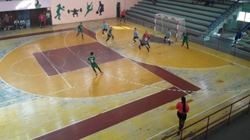 Juego de fútbol sala